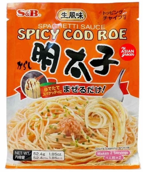 S&B Spicy Cod Roe Spaghetti Sauce 52.4g