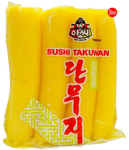 Assi Pickled Radish (Sushi Takuwan) 1kg