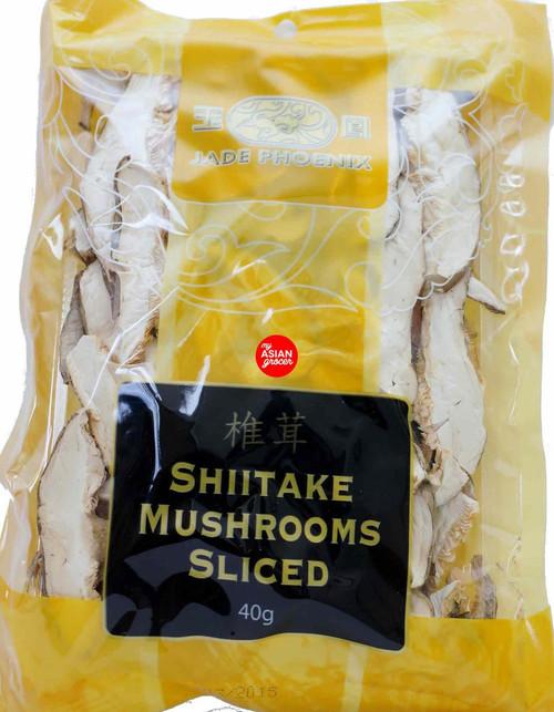 Jade Phoenix Shiitake Mushrooms Sliced 40g