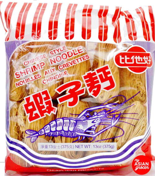 Chung Wah Chinese Style Shrimp Noodle (Thin) 375g