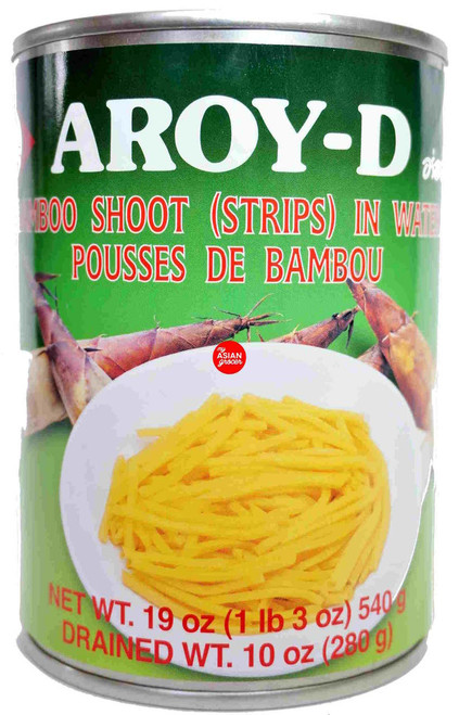 Aroy-D Bamboo Shoot (Strips) in Water 540g