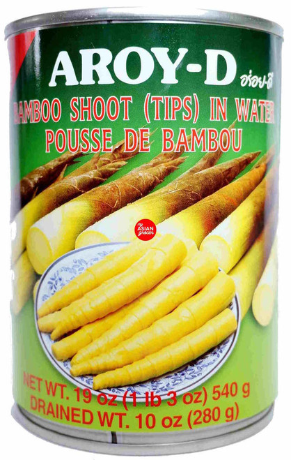Aroy-D Bamboo Shoot (Tips) in Water 540g