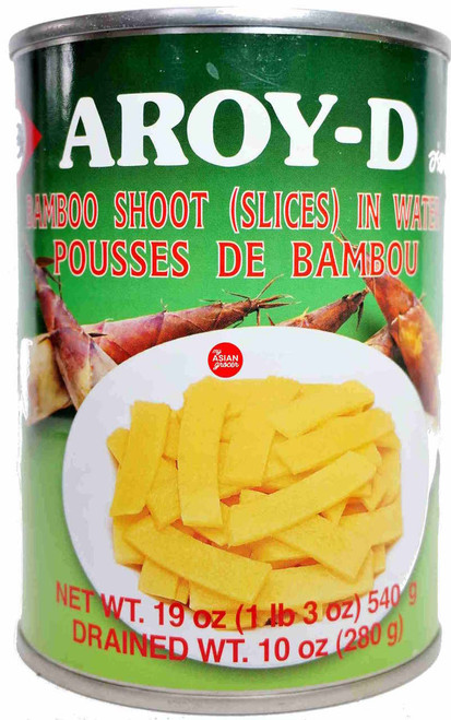 Aroy-D Bamboo Shoot (Slices) in Water 540g