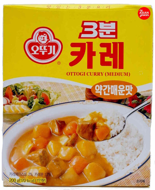 Ottogi 3 Minute Curry (Medium) 200g