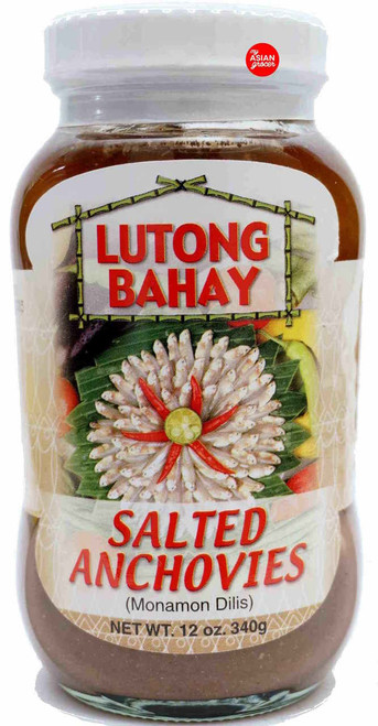 Lutong Bahay Salted Anchovies 340g
