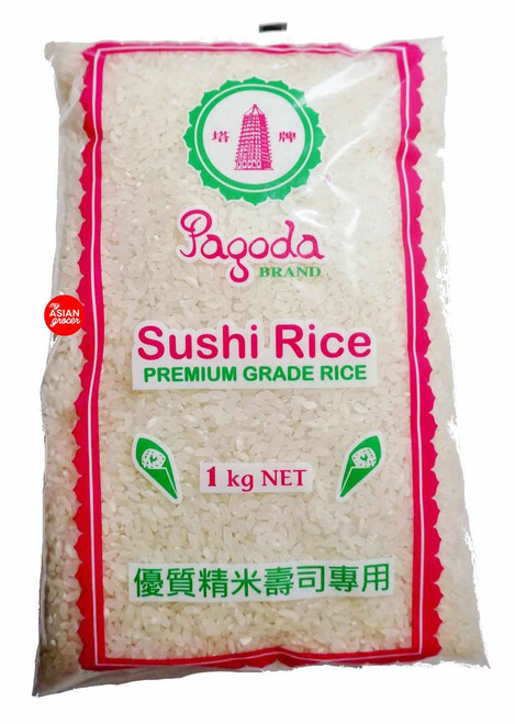 Pagoda Brand Sushi Rice Premium Grade 1kg