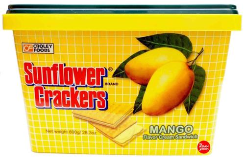 Sunflower Crackers - Mango Flavor Cream Sandwich 800g