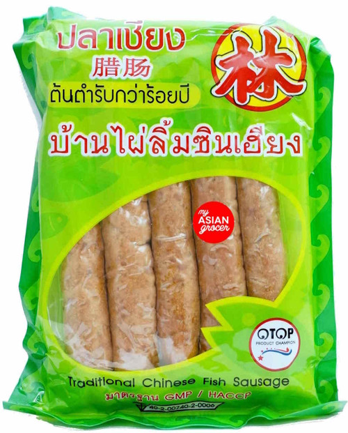 Banphai Limcinheang Traditional Chinese Fish Sausage 500g