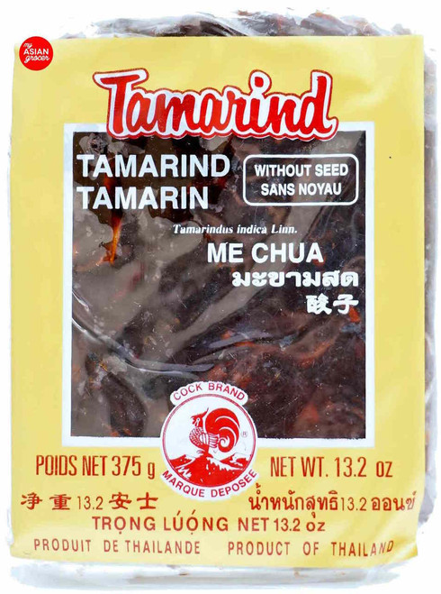Cock Brand Tamarind Without Seed 375g
