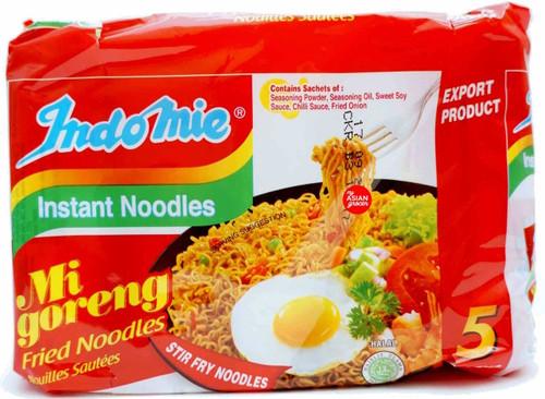 Indomie Mi Goreng Stir Fry Noodles 85g x 5 Pack