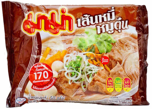 Mama Instant Rice Vermicelli Stew Pork Flavour 50g