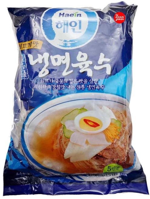 Haein Naengmyeon Yuksu (Korean Cold Noodle Broth) 310ml x 5 Packets