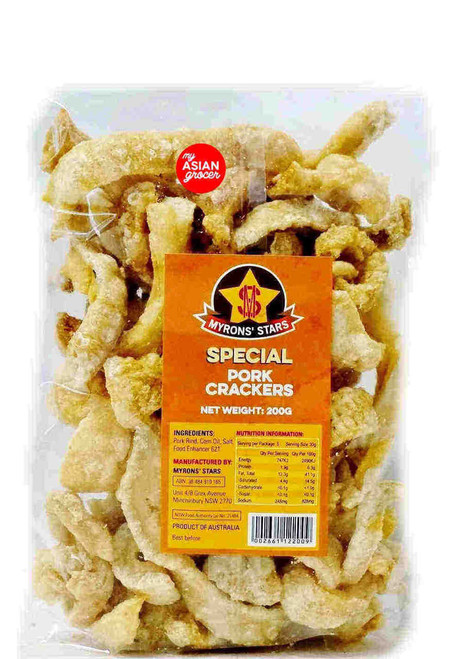 Myrons' Stars Pork Cracker Special 200g