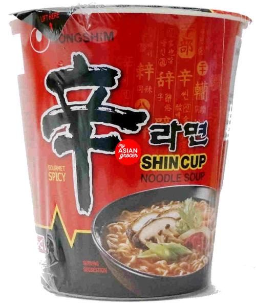 Nongshim Shin Cup Noodle Soup 68g