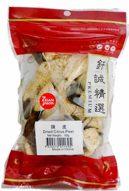 Golden Bai Wei Dried Citrus Peel 50g