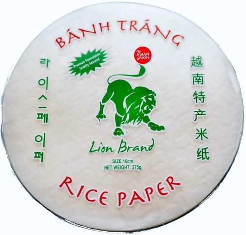Lion Brand Round Rice Paper (16cm) 375g