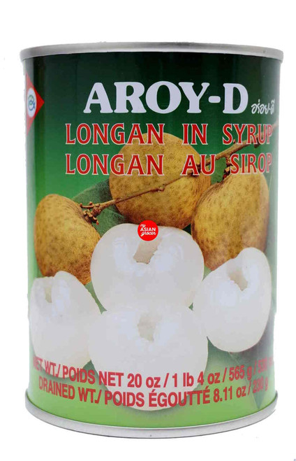 Aroy-D Longan in Syrup 565g