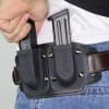 Belt mounted magazine holster