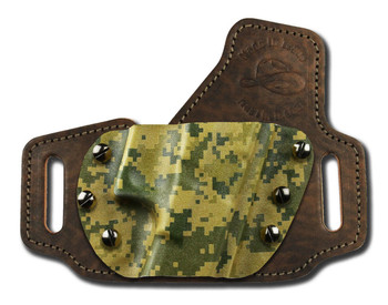 Outside the waistband custom holster