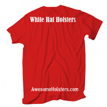 White Hat Holsters tshirt