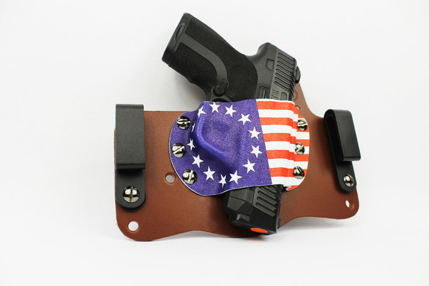 Betsy Ross Holster left side concealment holster tuckable