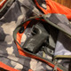 Carry Caddy and holster in a backpack