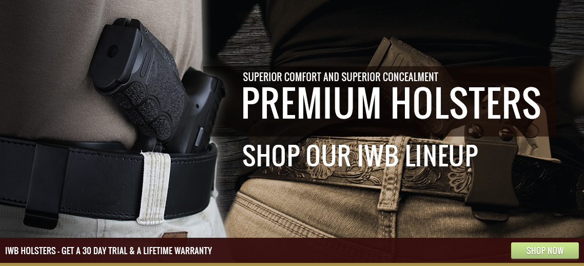 Hybrid holsters for concealed carry