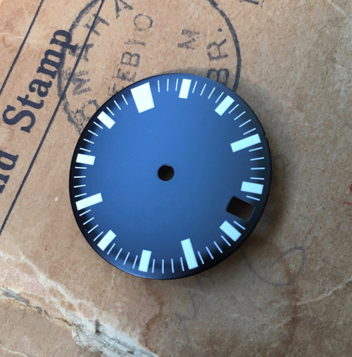 62MAS Dial for AMPHIBIA AMPHIBIAN Style Watch w/ Vostok 2416b MOD w/ 4.5 Date