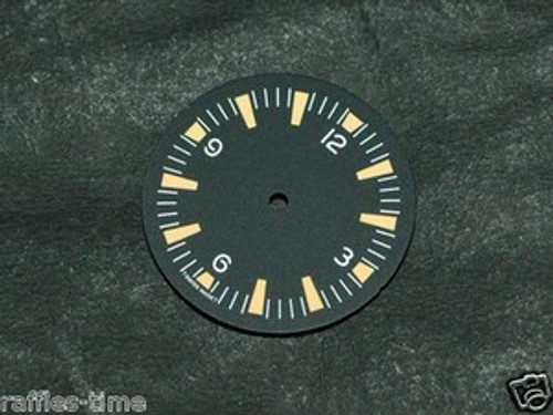 Orange Lume SM Dial for ETA 2824 2836 Movement Sterile Seamaster 300 Dial