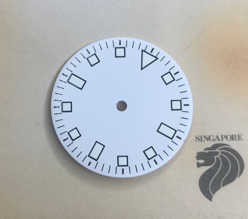 White Snowflake Dial for Vostok 2416b movement