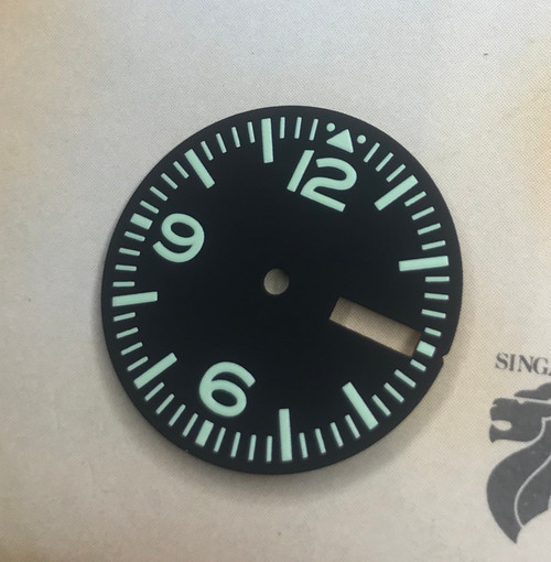 C5  Aviator w/ Day Date Dial for Pilot Aviation with Seiko 7S26 NH35 movement 28.5mm