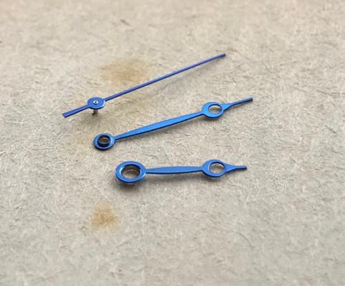 Metallic Blue Roman Style Watch Hands ETA 2824 2836