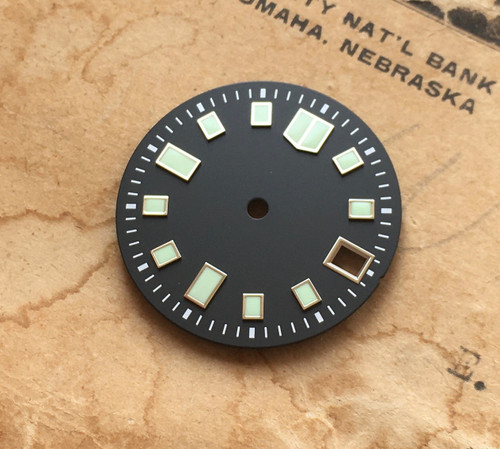 C3 Lume  6105 Diver's Watch Dial Seiko 7S26 NH35 Movement 2 Positions