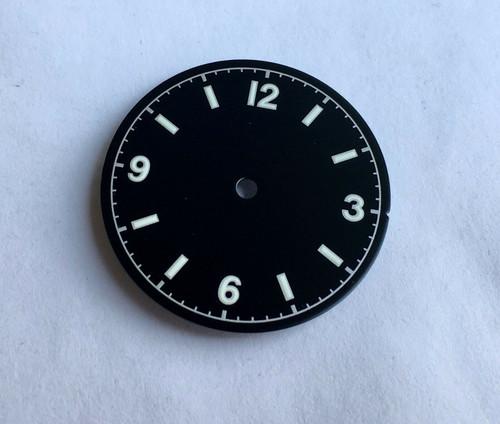 Silver Bond 12 Dial Milsub Watch Black Bay Gilt Dial for ETA 2824 2836