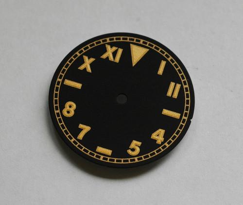 Gold Gilt California Dial  Zerographe ETA 2836 / 2824 movement 28.5mm Superluminova