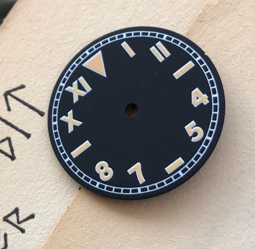 California Dial Vostok 2416b movement 28.2mm Superluminova