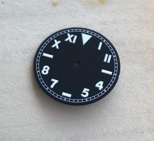 White Lume California Dial Vostok 2416b movement 28.2mm Superluminova