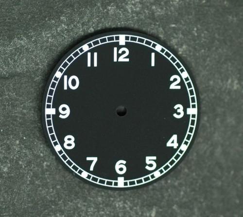 Military Dial ETA 2836 / 2824 movement White Superluminova