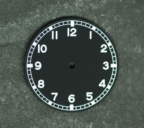 Military Dial DG 2813 movement White Superluminova