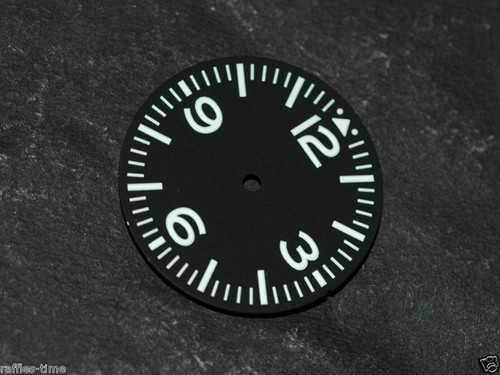 Aviator Dial for Pilot Aviation Watch w/ ETA 2836 / 2824 movement Superluminova