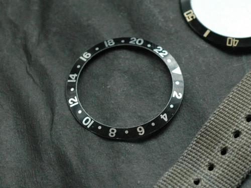 Bezel Insert GMT Black
