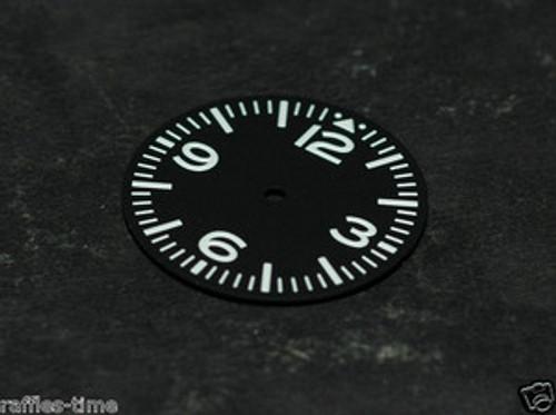 Aviator Dial for Pilot Aviation Watch w/ Miyota 8200 DG 2813 movement White Superluminova