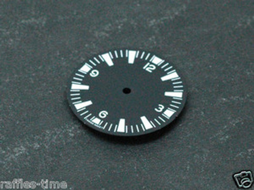 White Lume SM 29mm Dial for DG 2813 Miyota 8200 Movement Seamaster 300 style Watch