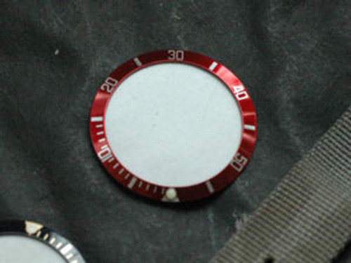 Bezel Insert Red Coca Cola Submariner Style