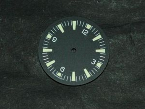 Green Lume SM Dial for DG 2813 Miyota 8200 Movement Sterile Seamaster 300 Dial
