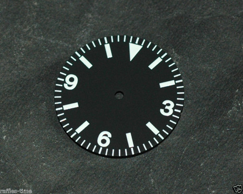 Vintage Explorer Watch Dial for DG 2813 Miyota 8200 Movement