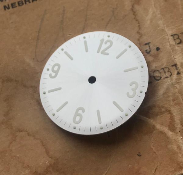 Pearl White PAM Dial for Panerai Diver AMPHIBIAN Style Watch w/ Vostok 2416b movement