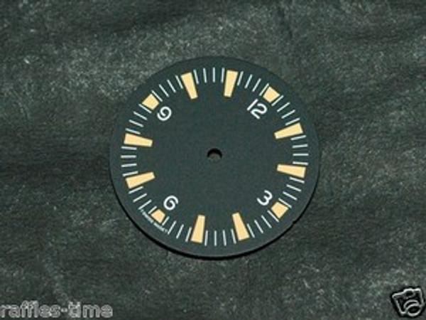 Orange Lume SM Dial for ETA 2824 2836 Movement Sterile Seamaster 300 Dial