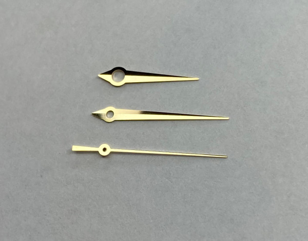 Gold Dauphine Watch Hands for Grand Seiko Type 7S26 NH35 4R36