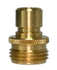 Brass Garden Hose Male Quick Disconnect, GHQC-M